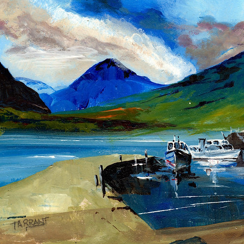 Inversnaid Pier - Loch Lomond