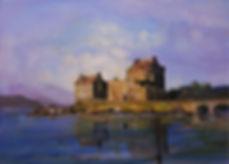 Peter Tarrant Scottish Landscape Artist Eilean Donan Castle