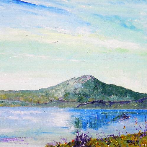 Loch Venachar to Ben Venue - Greeting Card