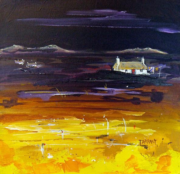 Peter Tarrant Scottish Landscape Painter Uist Crofts, Outer Hebrides.