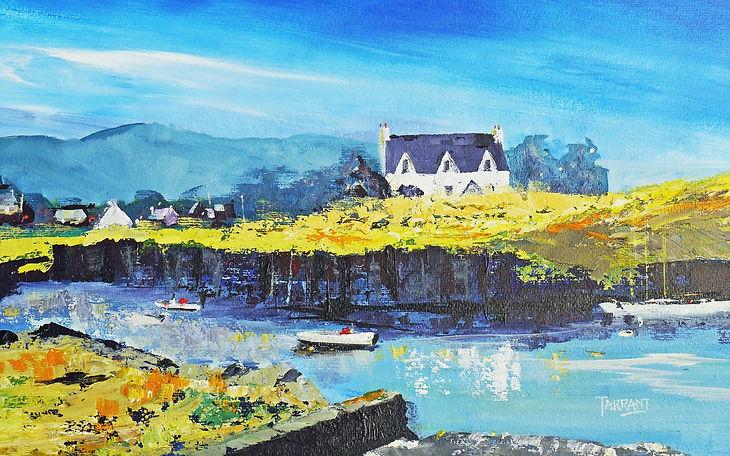 Inlet Easdale Island, Scotland,  Peter Tarrant Contemporary Scottish Landscape Painter