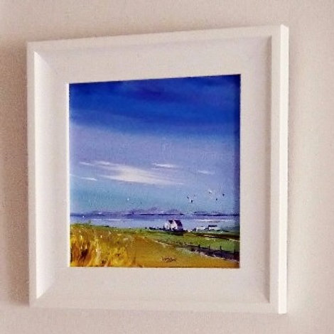 North Uist - Framed Canvas Print