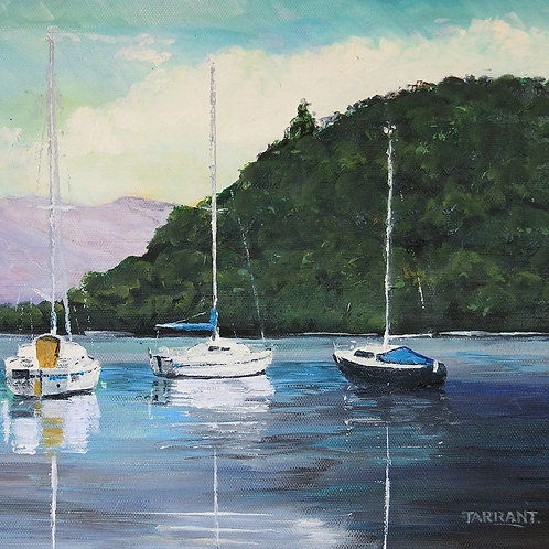Secluded Haven, Loch Lomond - Greeting Card
