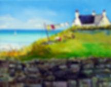 Peter Tarrant Scottish Landscape Paintings Kilbride Croft Outer Hebrides