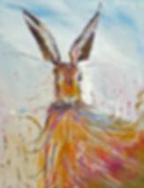 Peter Tarrant Contemporary Scottish Landscape Painter,Hare-um Scare-um