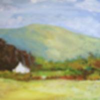 Peter Tarrant Scottish Landscape Painter ledaig near Oban on the West Coast of Scotland.