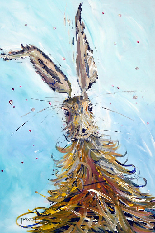 Hooray Hare - Greeting Card
