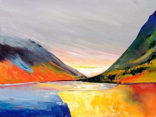 Loch Achtriochtan, Glenogle. Scotland.