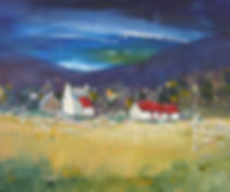 Peter Tarrant Scottish Landscape Artist Trossachs Farm