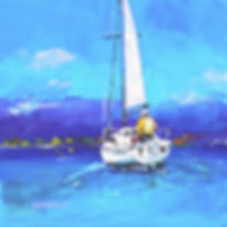 Loch Lomond Sail Painting