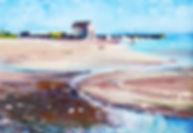 Peter Tarrant Scottish Landscape Painter Artist Painting Elie Beach