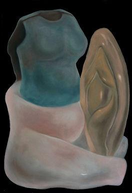 l'armure, pastel, 110x75cm, 2021.jpg