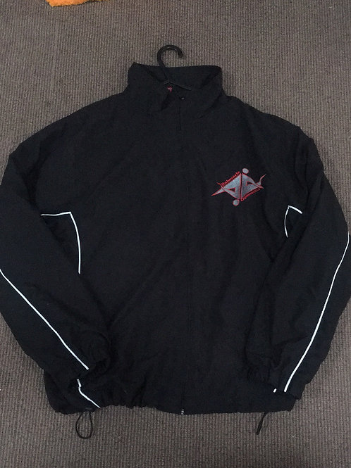 Black Balwearie Tracksuit Jacket- different sizes available