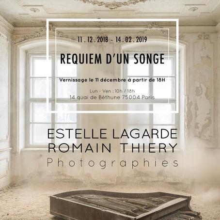 """Estelle Lagarde dans """"Requiem pour un songe"""" avec Romain Thiery / jusqu'au 14 février 2018"""