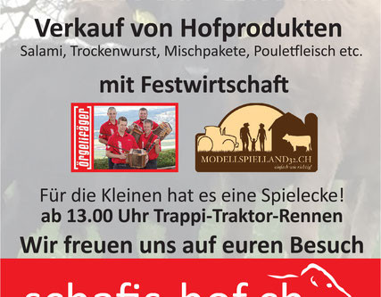 Schafis-Hof-Fest 16.August 2020