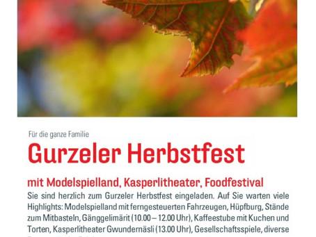 Gurzeler Herbstfest mit Gänggeli-Märit
