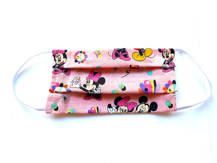 Disney Child  Face Mask with a pocket - 100% cotton