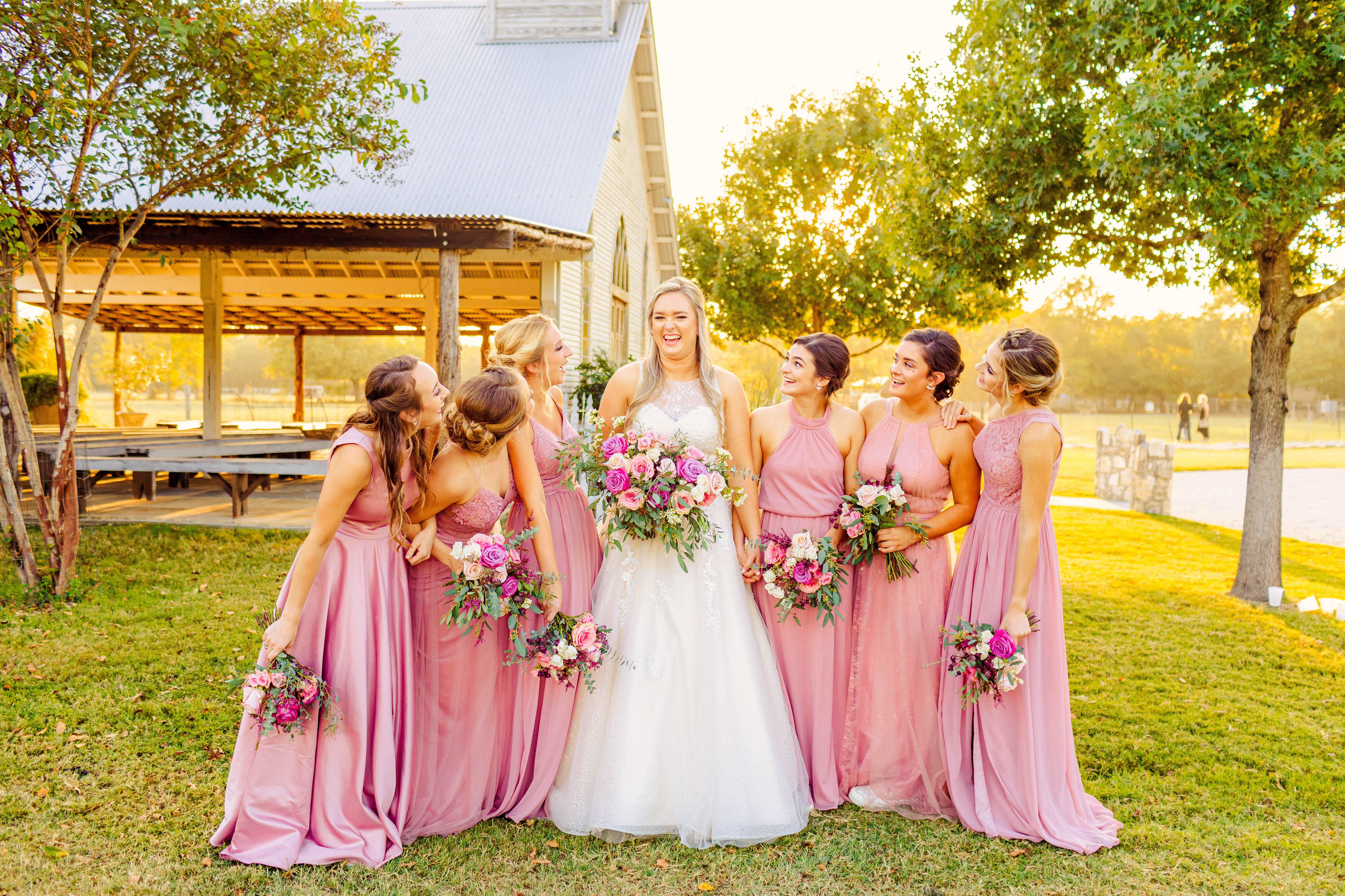 Madison's bridesmaids
