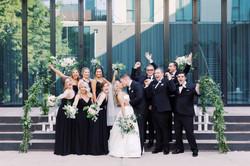 Wedding party celebration