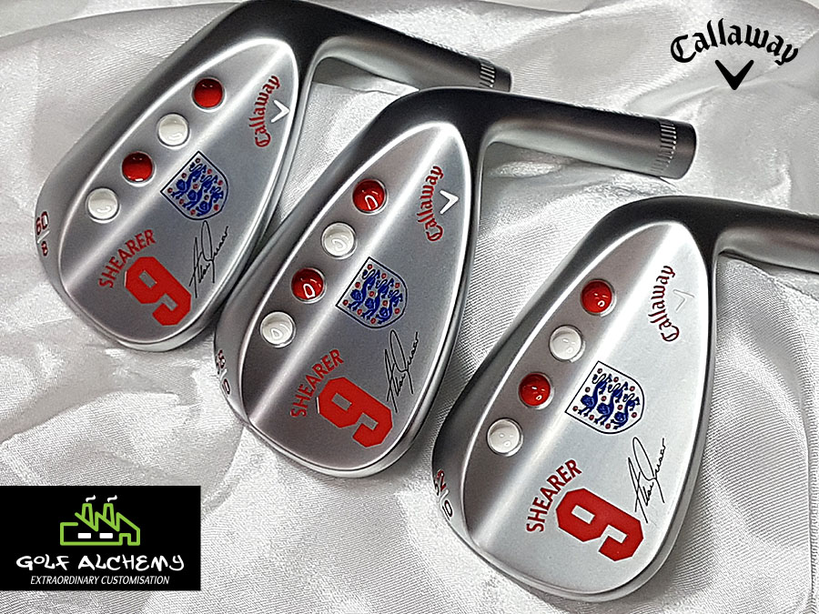 Callaway Alan Shearer Golf Alchemy wedges