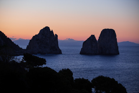 Sunrise on Capri