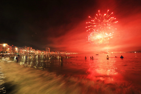 Copacabana on New Year's Eve