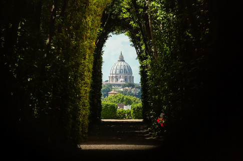 Through the Aventine Keyhole
