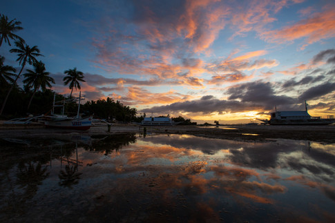 Sunrise on Bohol Island