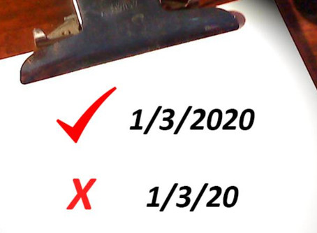 2020 Legal Documents (Why You Should Never Shorten 2020)
