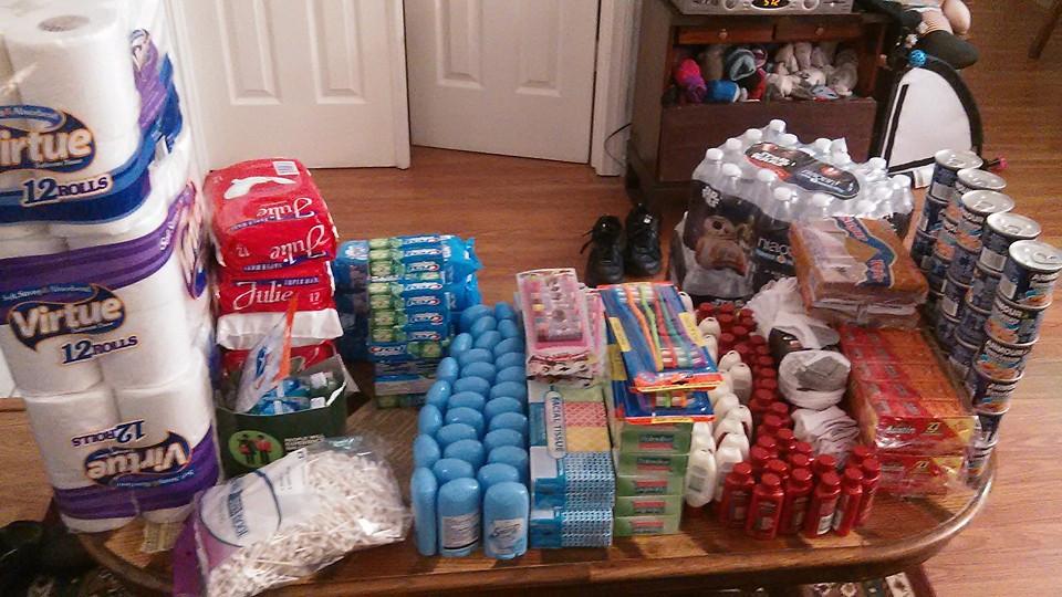 Homeless Encampment Donations