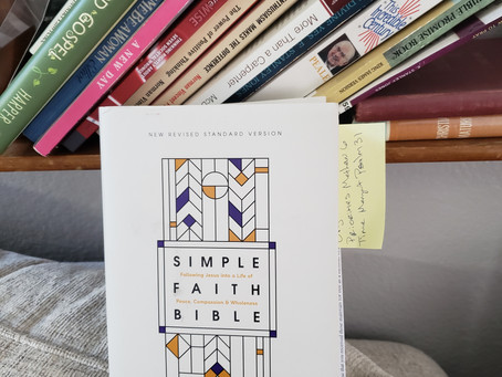 REVIEW: NRSV Simple Faith Bible