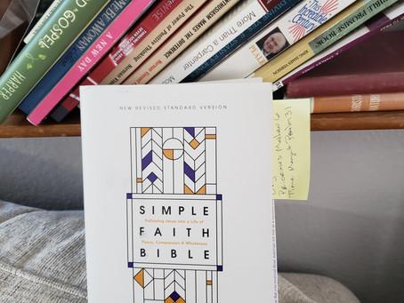 REVIEW: NRSV Simple Faith Bible