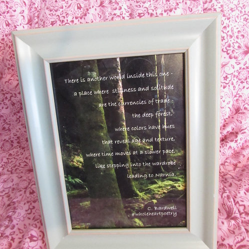 Forest Poem (Med.)