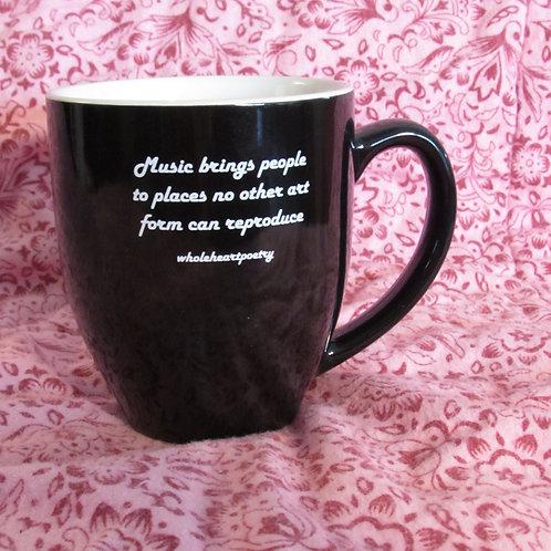 Original 14 oz Coffee Mug - Music