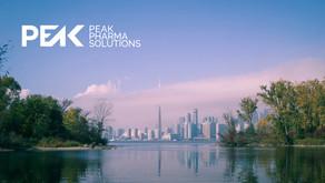 Peak Pharma Solutions Inc. Launches In Canada