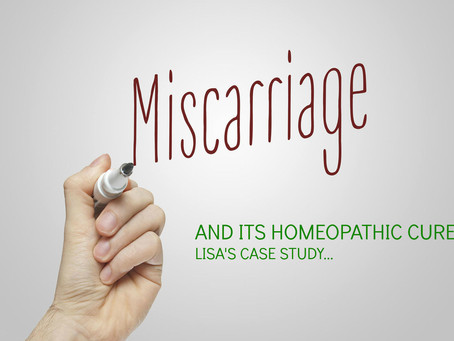 Case Study: Lisa's Multiple Miscarriages, Eliminated with Homeopathic Medicine...