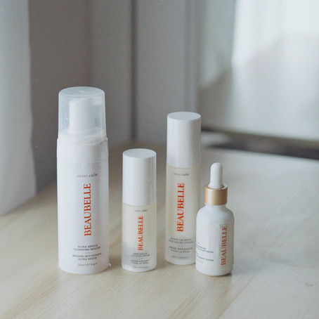 New Skincare Routine with Beaubelle Swiss Calm