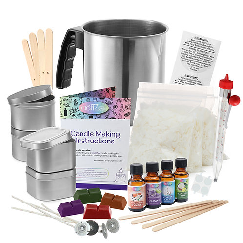 CraftZee Candle Making Kit, by DilaBee