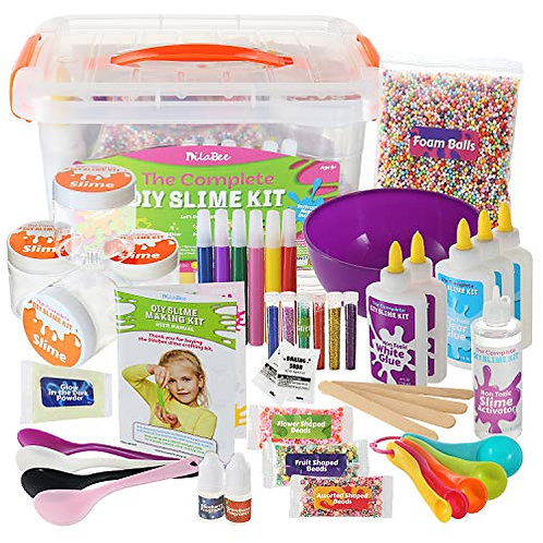 DIY Slime Making Kit for Girls and Boys (48-Piece)