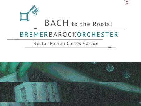 Premier enregistrement pour le BremerBarokorchester !
