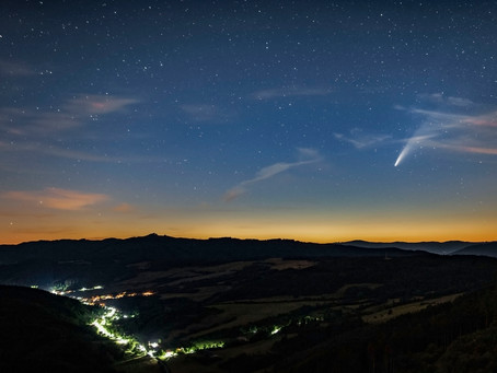 Kométa C / 2020 F3 NEOWISE