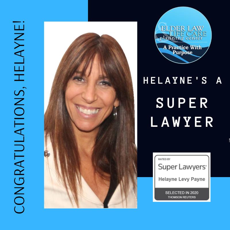 Congratulations, Helayne!
