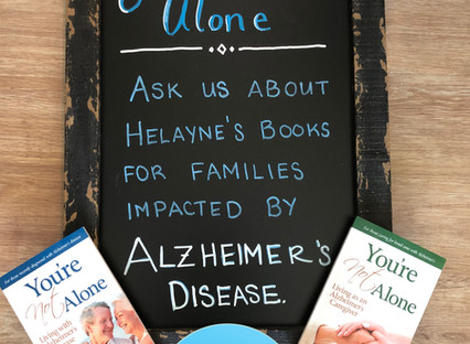 Two New Books Show Those Recently Diagnosed with Alzheimer's Disease and Their Caregivers How to Co