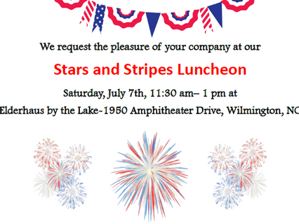 Stars and Stripes Luncheon