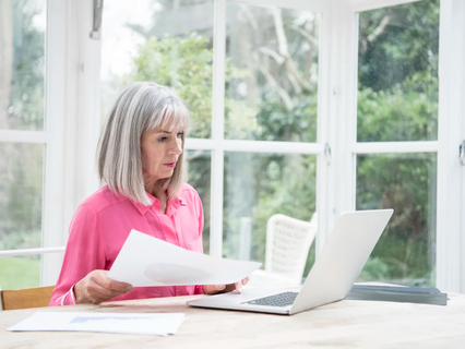 How seniors can keep busy by working from home
