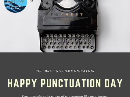 Happy Punctuation Day!