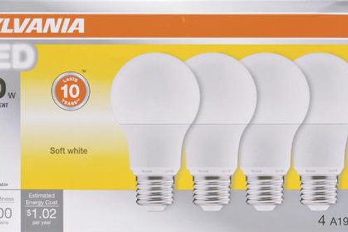 LED A19 Bulb | Non Dimmable | 2700K | Pack of 4
