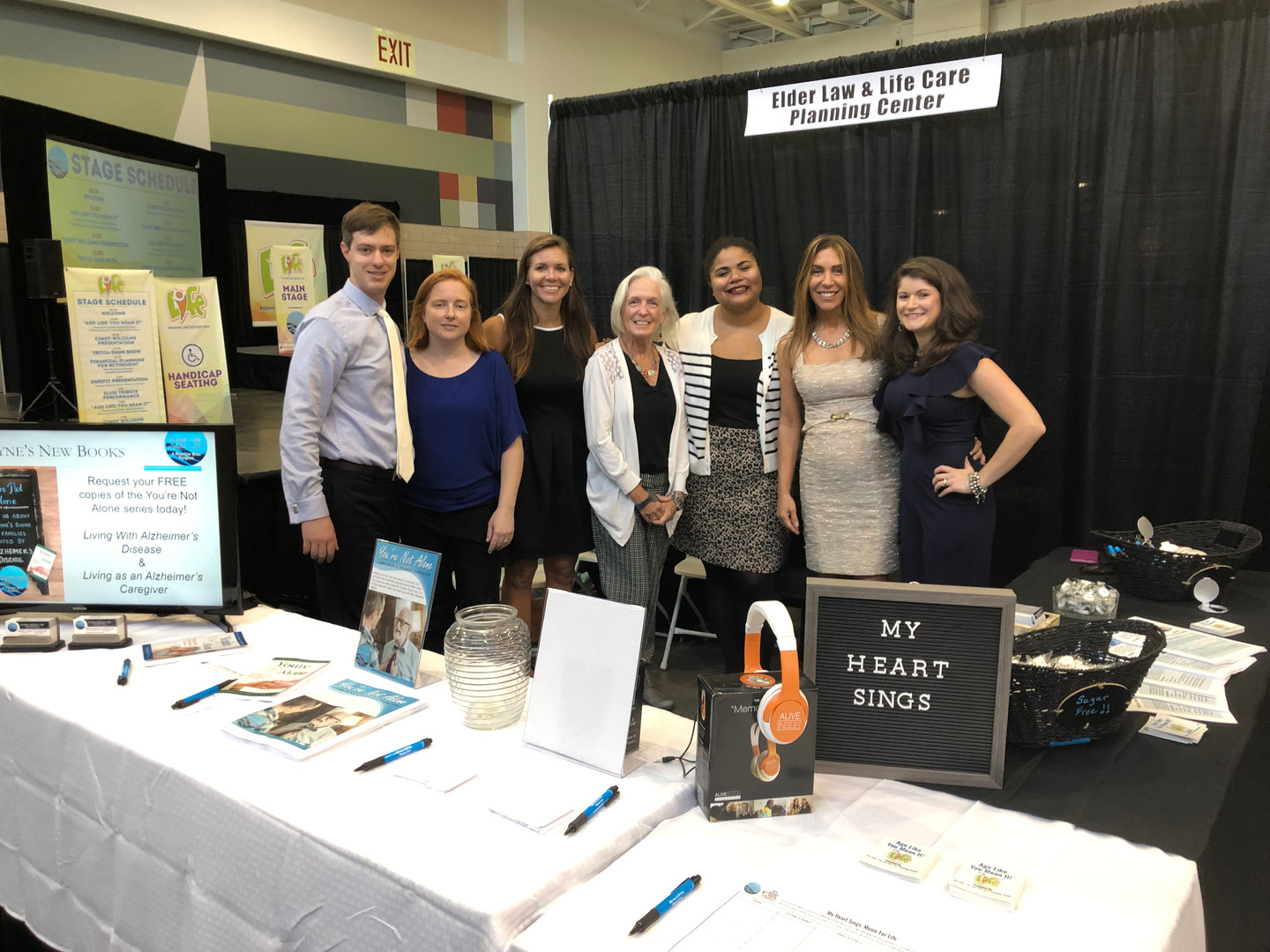 Our Team at the Life Expo