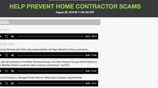 Help Prevent Home Contractor Scams