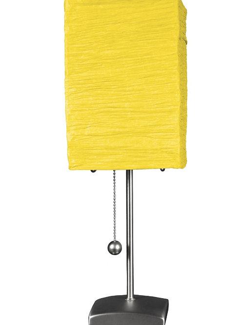 """17"""" Yoko Table Lamp _ Yellow.  By Oriental Furniture"""